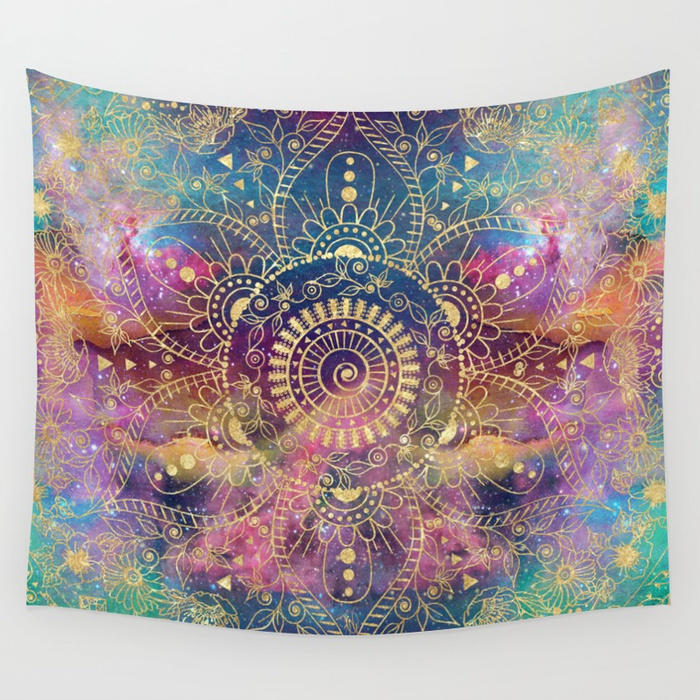 gold-watercolor-and-nebula-mandala-tapestries.jpg