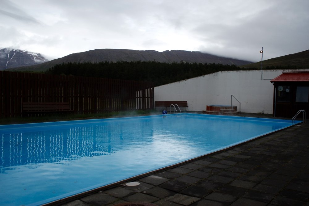 Swimming pool in Hólar