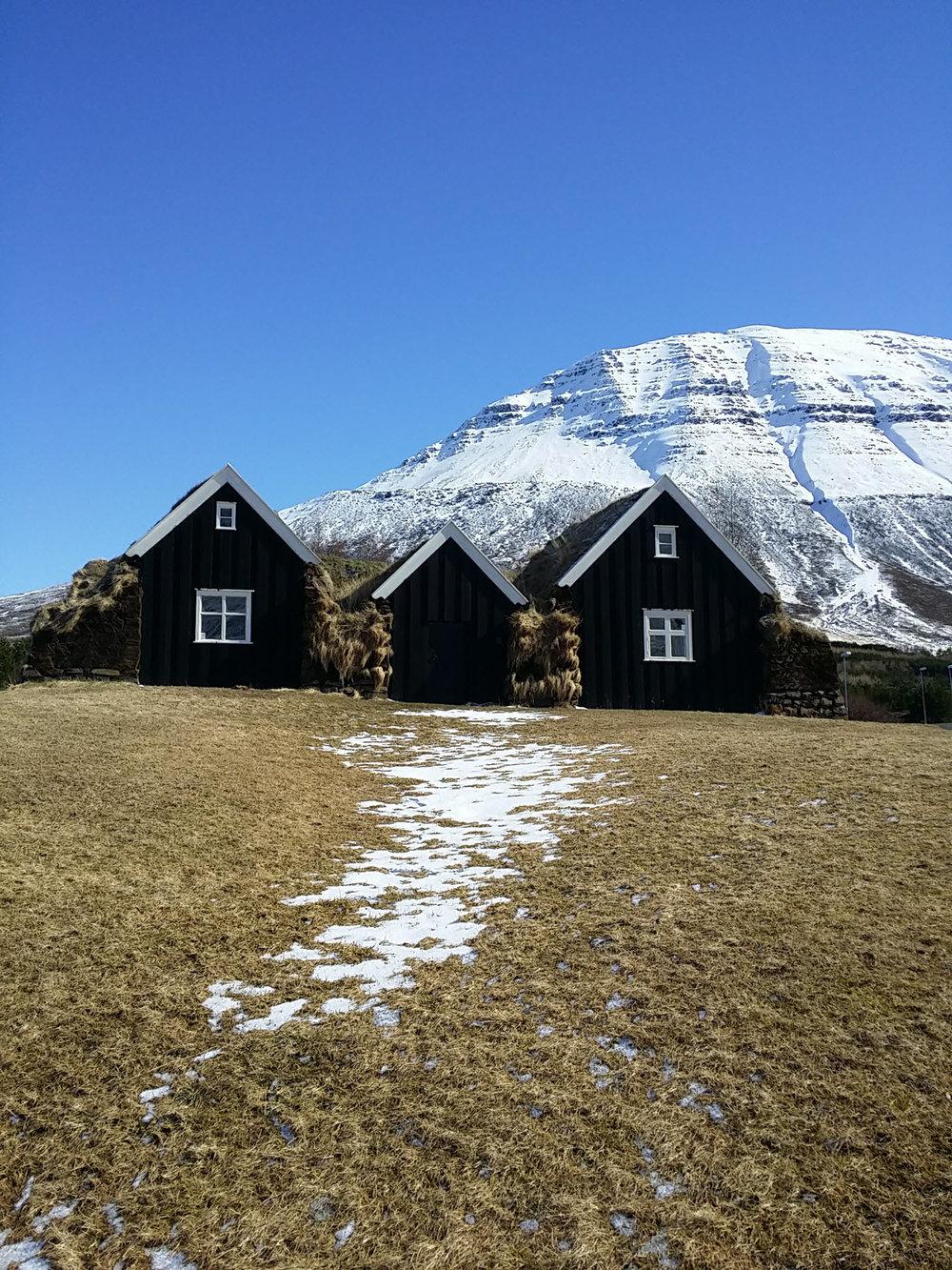 gvendarskál - and turfhouse farm Nýibær