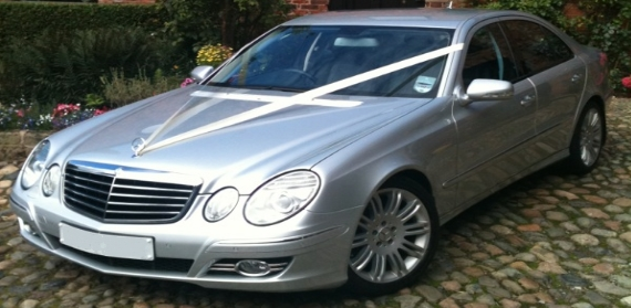 For the bride it has to be the Mercedes-Benz S-Class Limo