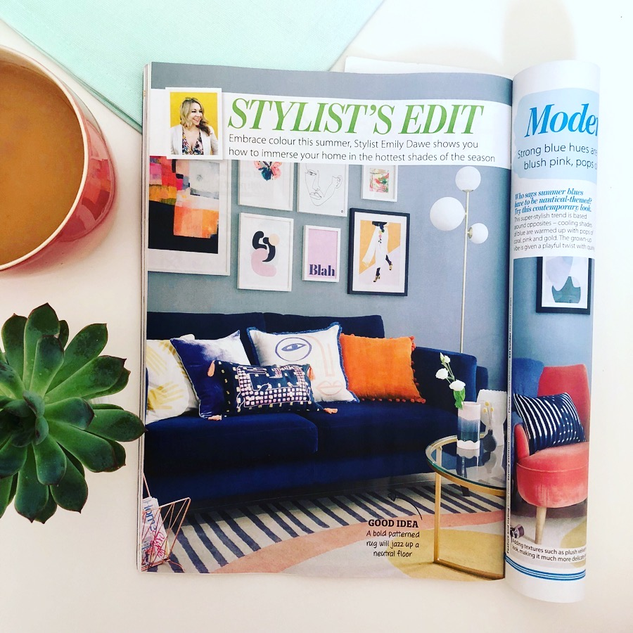 HOMESTYLE MAGAZINE - Styled by Emily Dawe
