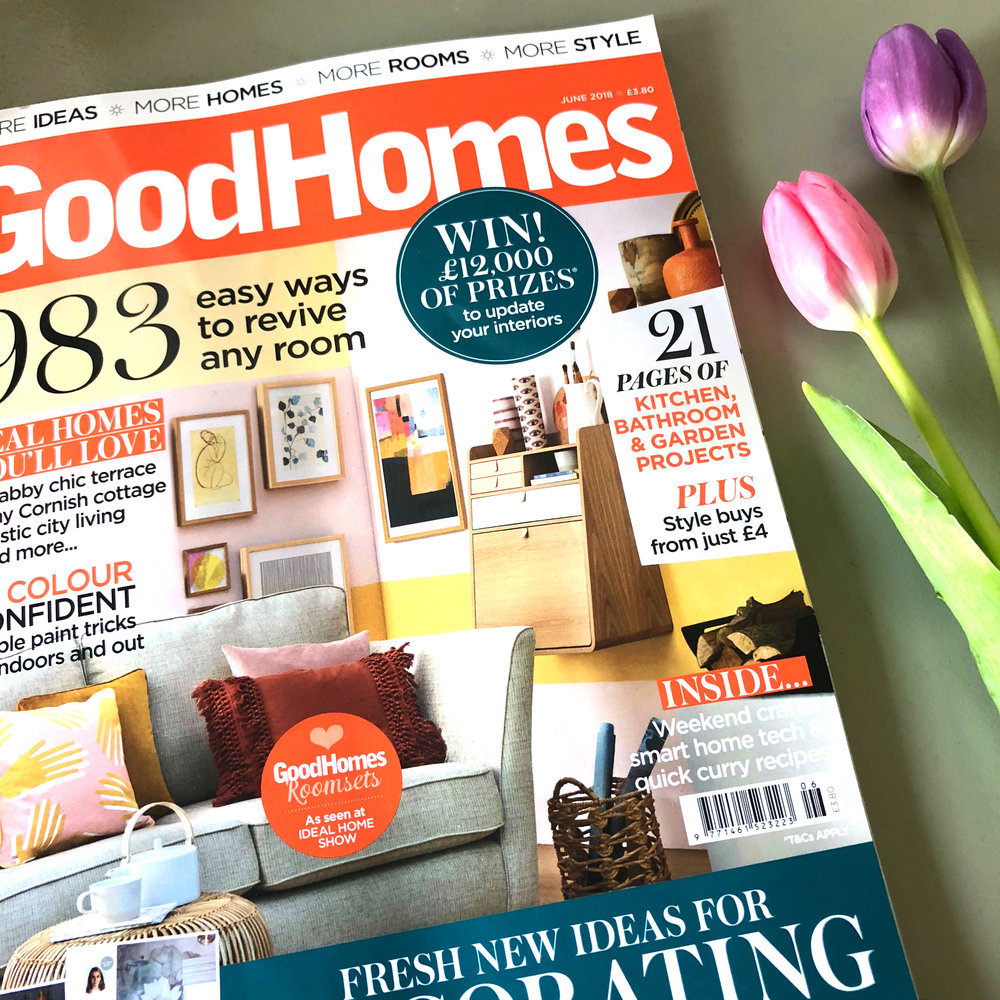 Cover of Good Homes Magazine - Photograph by Tim YoungStyled by Kate McPhee