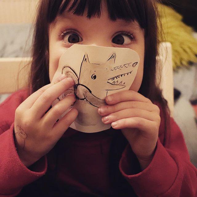 My number one fan! #illustration #illustrator #illustratorsoninstagram #art #artist #artistsoninstagram #wolf #animal #nature #watercolor #ink #creative #childrensbooks #children #kid #kidlitart #kidlit #photography #photographer #instagood #instagram #instadaily #draw #drawings #sketch #doodle #drawdaily