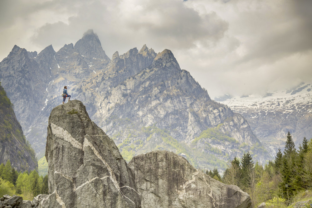 Cody Roth - Val di Mello - Italy