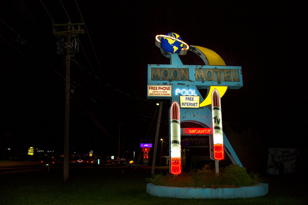 Moon Motel - Howell, New Jersey - 2011 (Since Demolished)
