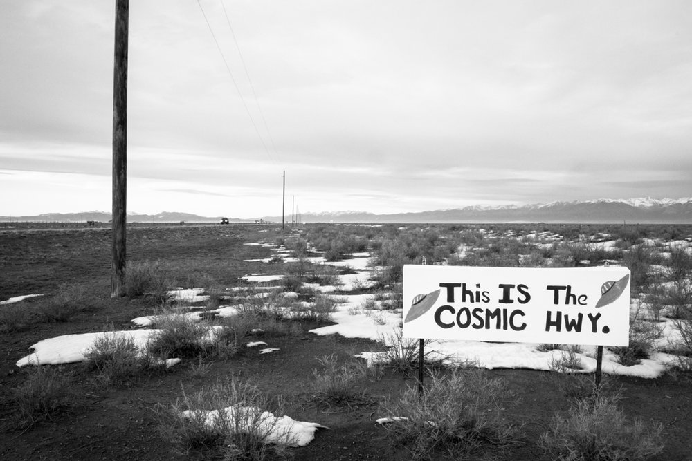 The Cosmic Highway - Hooper, Colorado - 2012