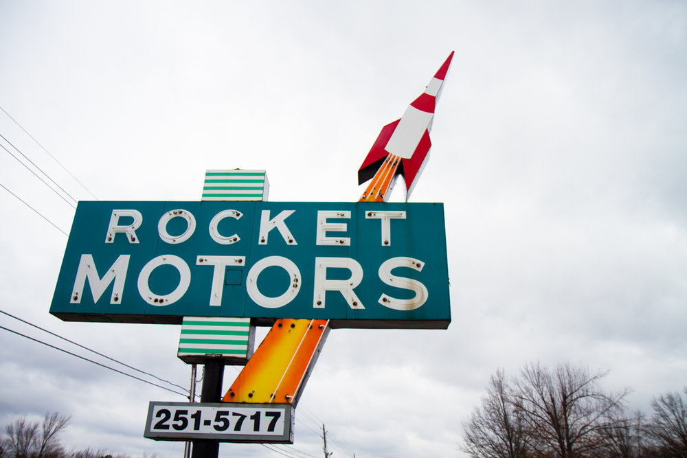 Rocket Motors - Broken Arrow, Oklahoma - 2012