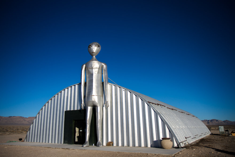 Alien Research Center along the Extraterrestrial Highway - Hiko, Nevada - 2012