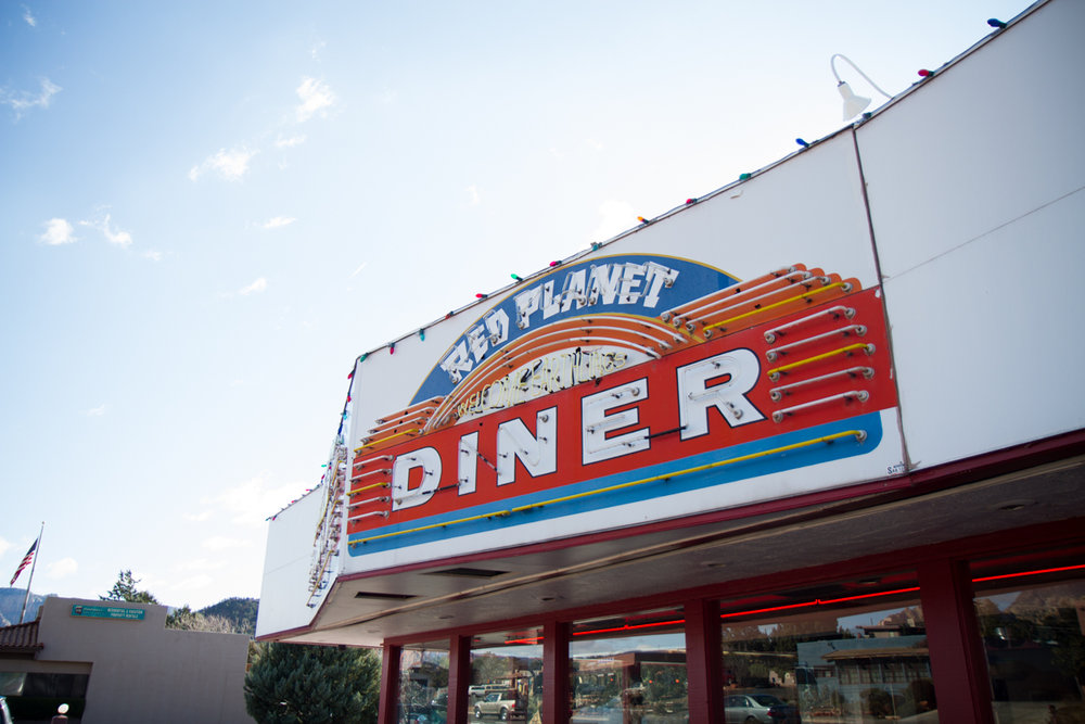 Welcome Earthlings: Red Planet Diner - Sedona, Arizona - 2012