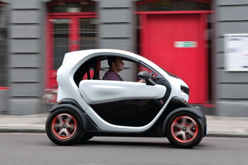 Why The Renault Twizy Current Vehicles