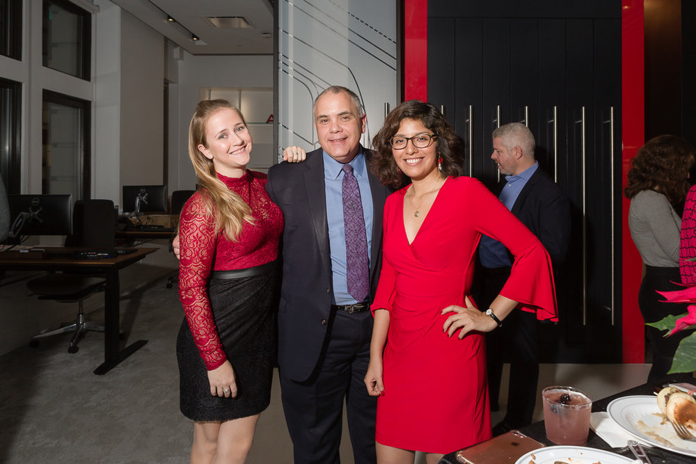 NY Council board members: Valerie Costa, James Rowland, Gabriela Branez (l-r)