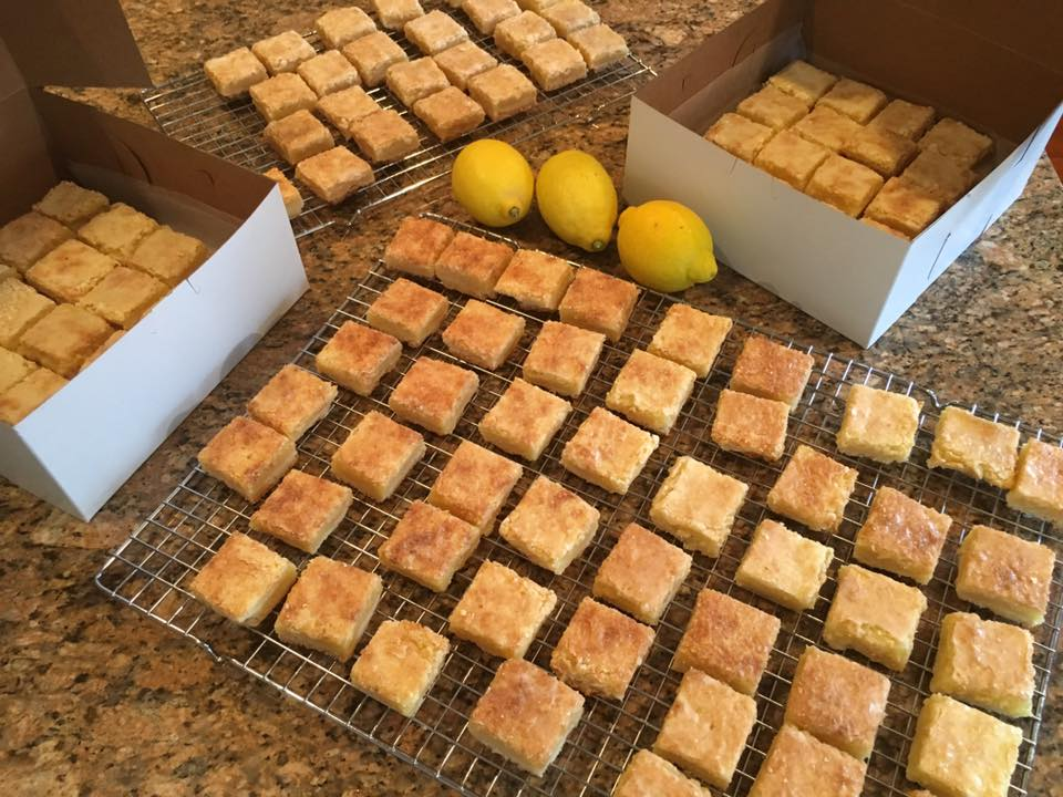 Superstar Lemon Bars