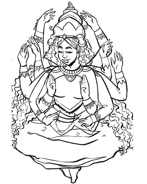 Aditi Goddess
