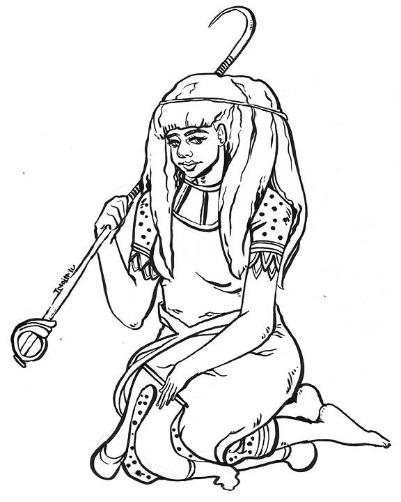 Seshat Goddess