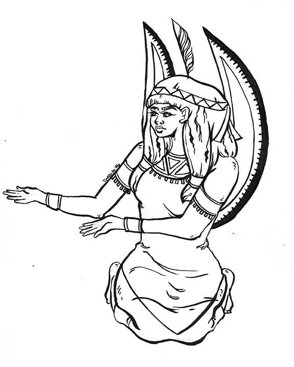 Maat Goddess