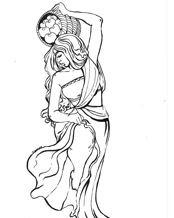 Indunn Goddess