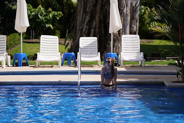 La piscine commune du Outsite Costa Rica