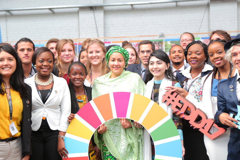 Young Leaders with Amina Mohammed, UN Deputy Secretary-General, and SDG Advocate
