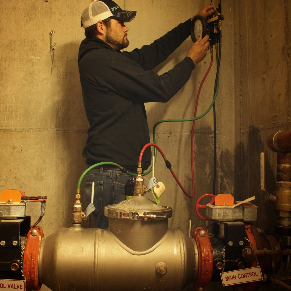 Backflow annual inspection