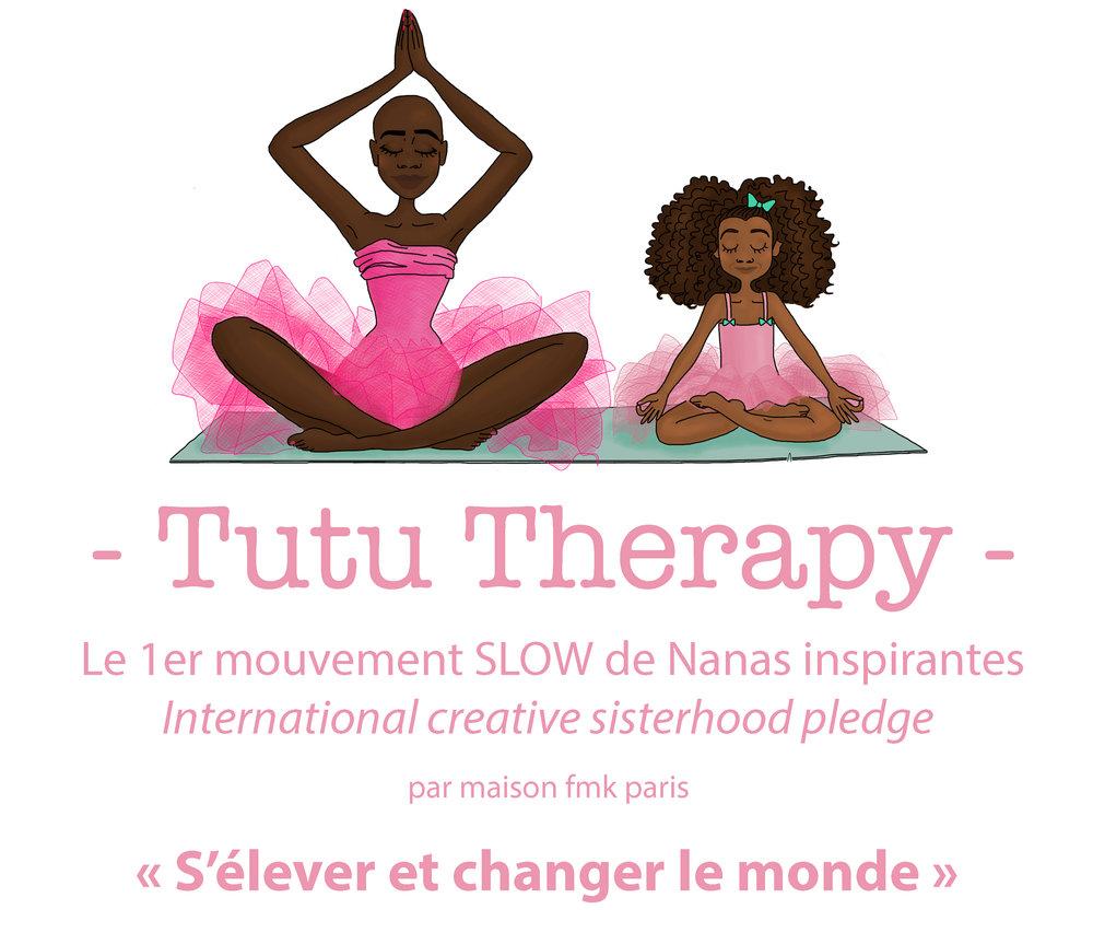 Tutu Therapy, mouvement Slow - Premier mouvement SLOW de supers nanas inspirantes, Tutu Therapy est le mouvement pour celles, de 7 à 97 ans, qui souhaitent s'élever et changer le monde. Ici vous découvrirez du storytelling via les Talks, Podcasts et Vidéos. Découvrez également les ateliers/coaching #lelabsisterhoodREJOINS NOUS