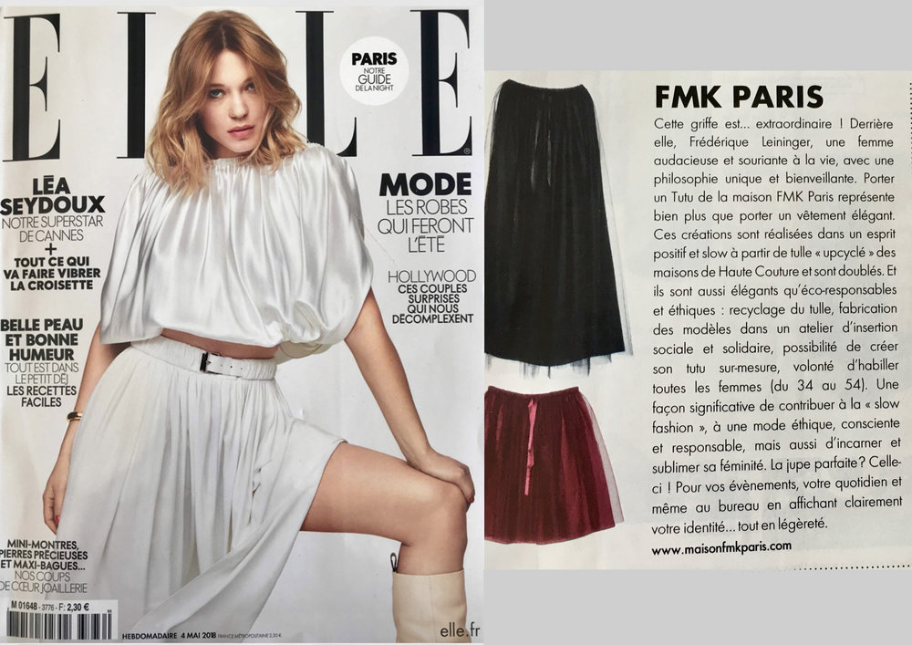 MAGAZINE ELLE  (version papier)