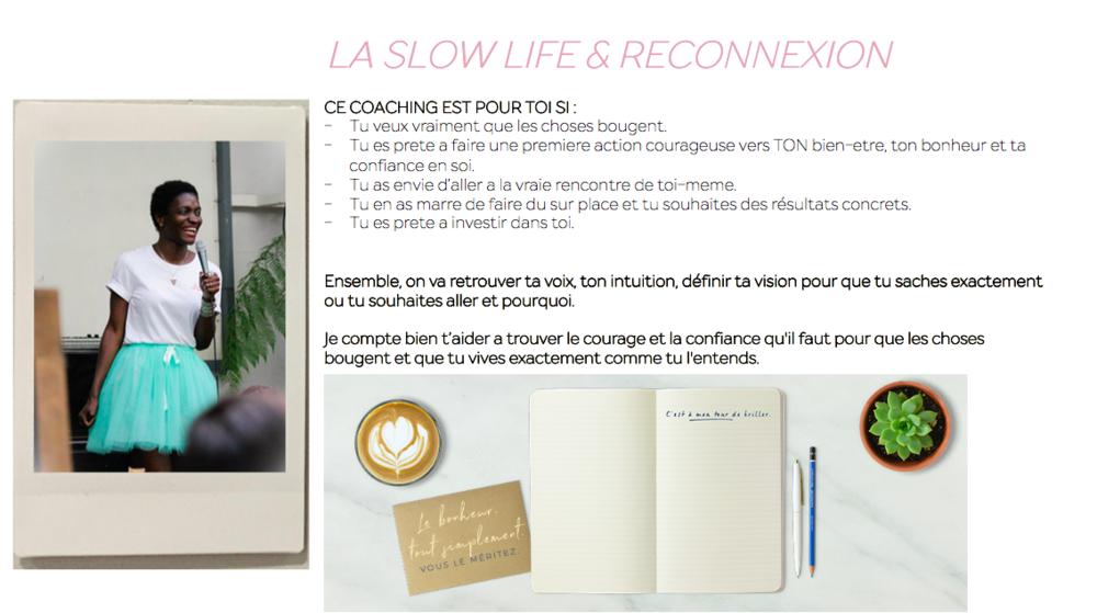 coaching slow life
