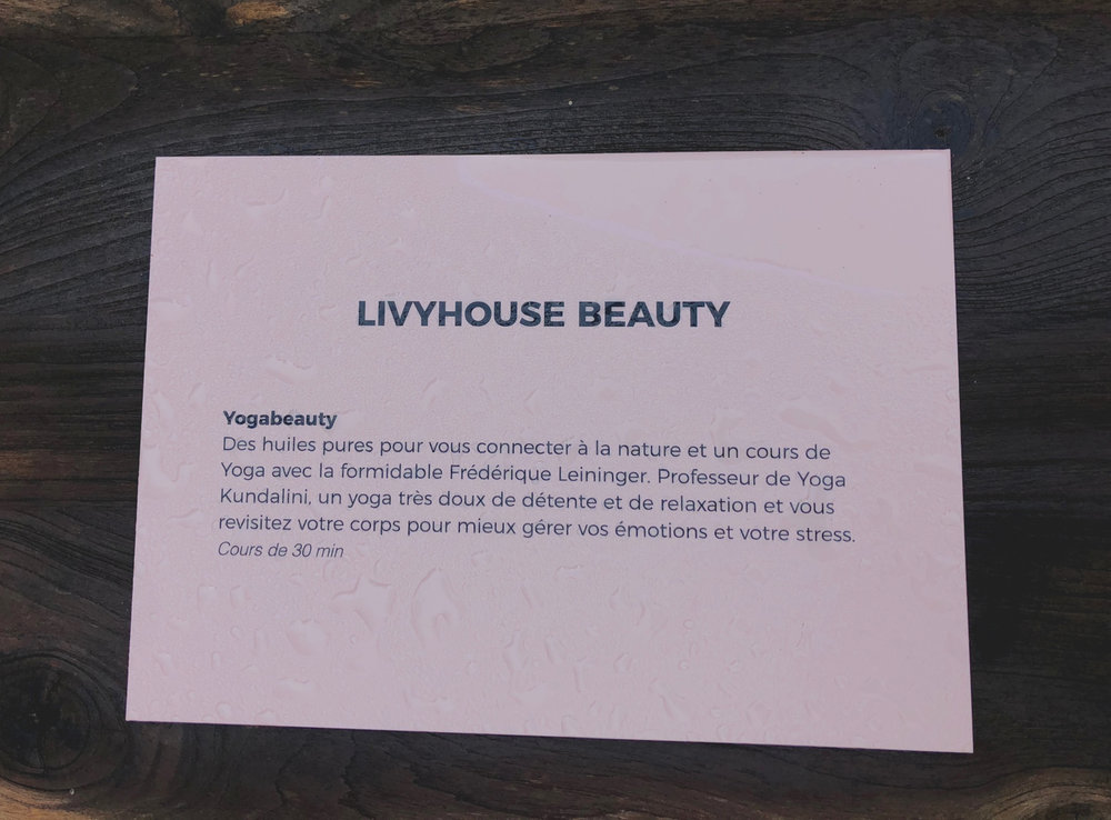 LIVY HOUSE BEAUTY MAISON FMK PARIS