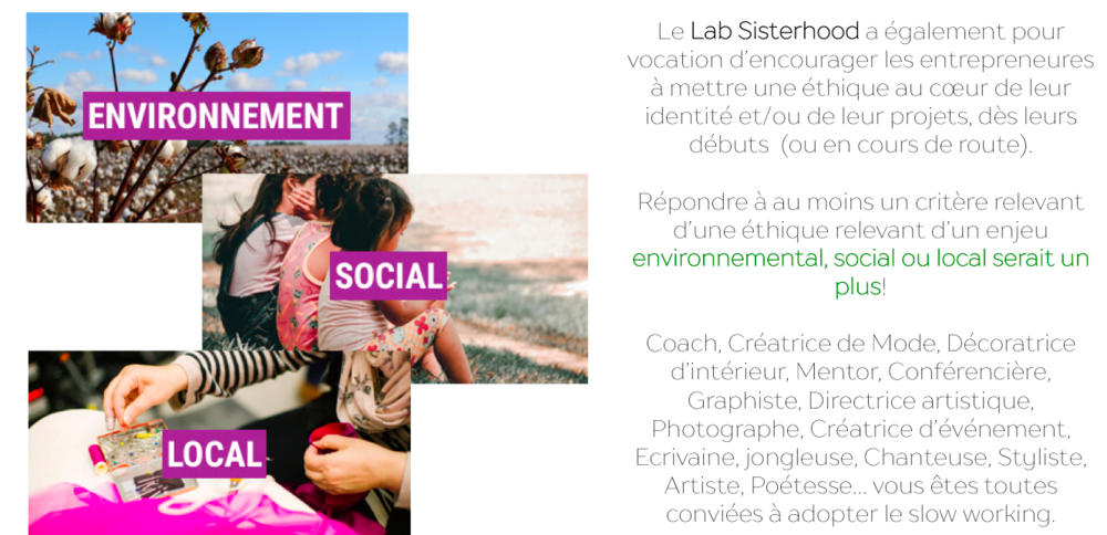 lab sisterhood innsaei tribe maison fmk paris