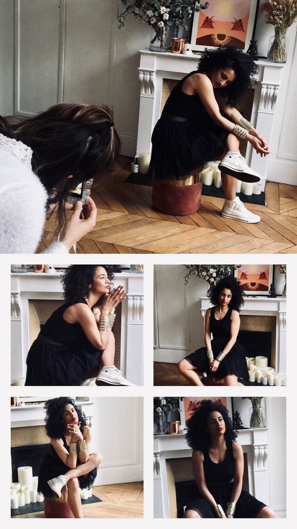 Backstage Shooting Collection - Muse Tutu : Virginie DarbonPhotographe : Amandine Galice