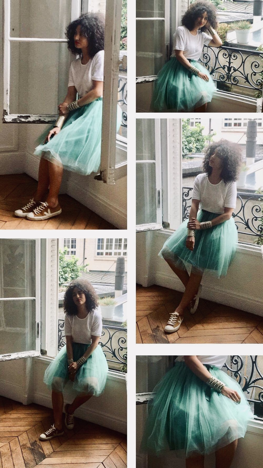 Backstage Shooting Collection - Muse Tutu : Virginie DarbonPhotographe : Amandine Galice