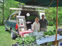 Wildstone Farm's owners Joy and John Primmer