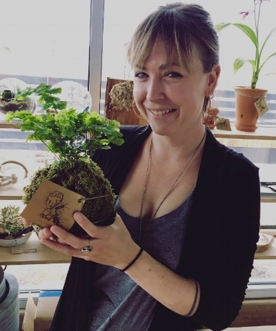 Mara Lafferty will bt teaching a houseplant repotting class at Opuntia Cafe April 7th at 1:00
