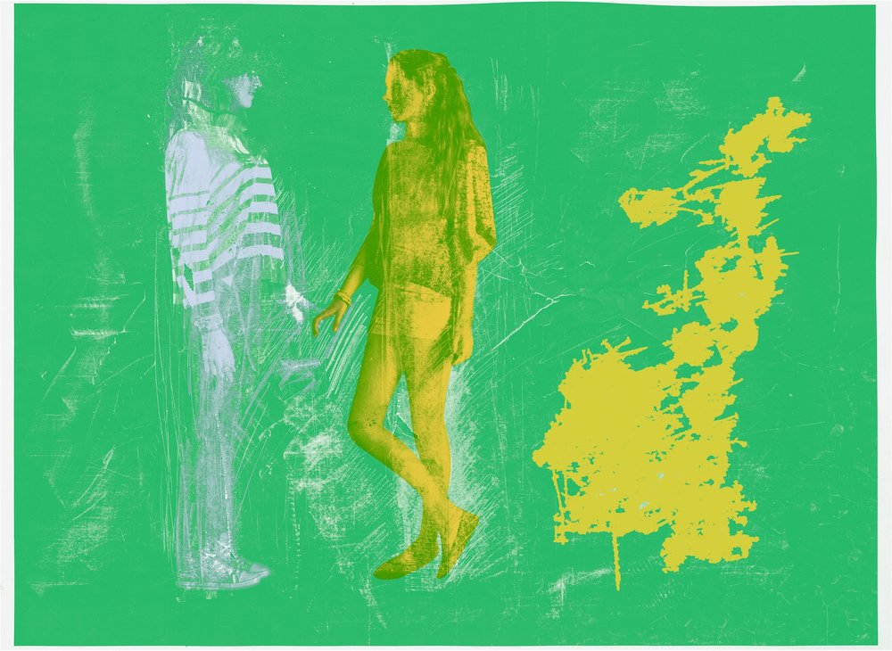 """""""Forest Play"""", Erasure, 2019, tirage pigmentaire archive sur papier, 75 x 100 cm, tirage unique plus 1 tirage d'artiste"""