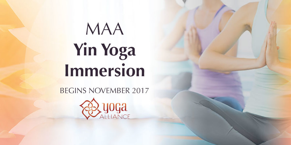 Yin Yoga Immersion & teacher training -