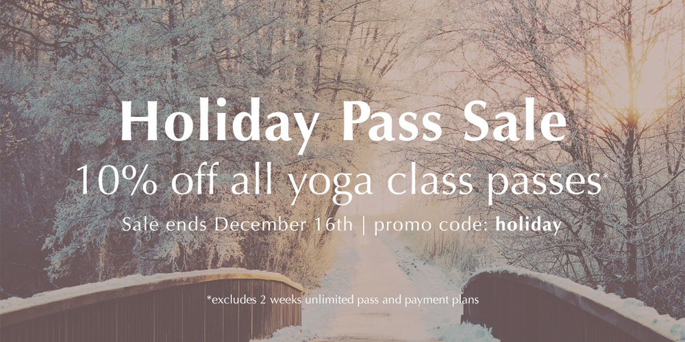 Holiday Pass Sale