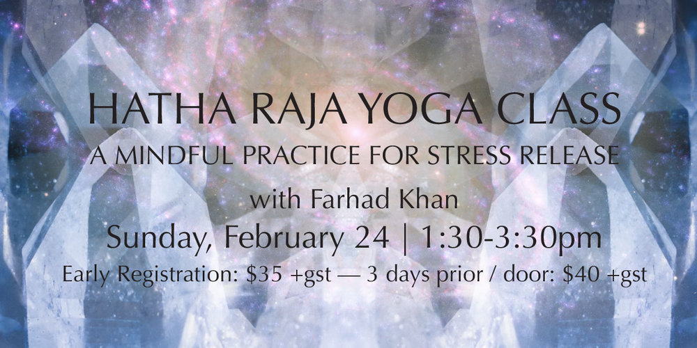 Hatha Raja Yoga Class: A Mindful Practice For Stress Release