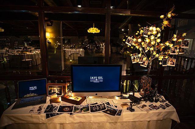 Así quedo mi mesa en la jornada de puertas abiertas del @restaurantepalaciomijares  ha sido una jornada llena de gente , charlado con muchas parejas. Seguro que a más de una la volveré a ver 😊 . . . . . . . #bodas #wedding #fotodeboda #videodeboda