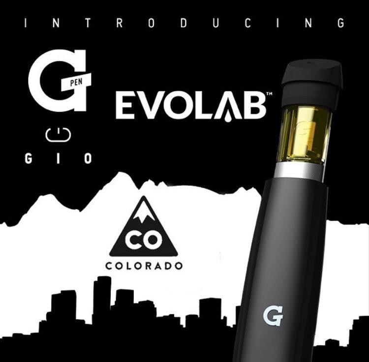 Evolab Launches G Pen Gio in Colorado - Weedguide search