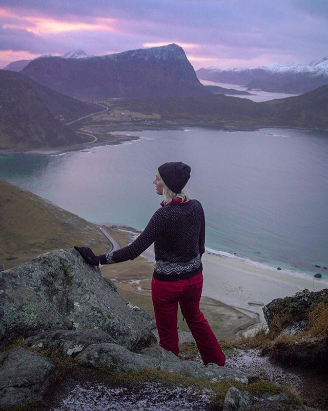 Leaving Norway with a full heart, and I intend to carry this feeling with me into 2019. HAPPY NEW YEAR, EVERYONE! [The shot is from perhaps my favorite hike of the trip: up to the Mannen summit!!]