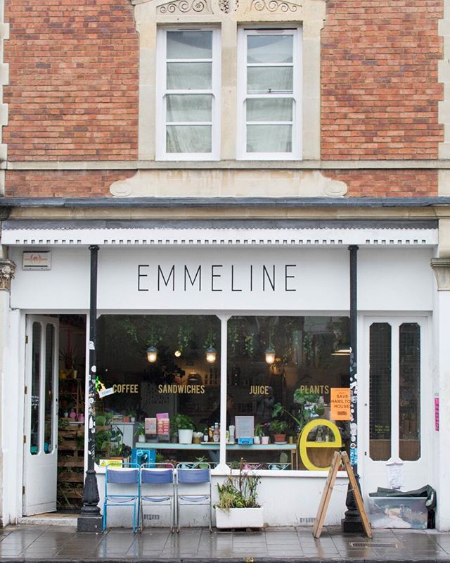 Did see our #BehindBristolDoors post last week about @emmeline_bristol ? If you're looking for a little pick me up this week we'd definitely recommend any of their sweet treats. Though we suspect you might be leaving with a plant or two as well.
