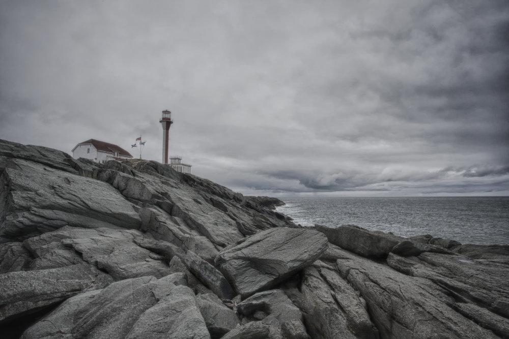 Fourchu Lighthouse - Across the Blue Planet