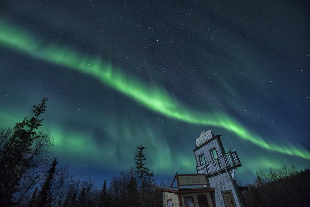 Dawson City Aurora - Across the Blue Planet