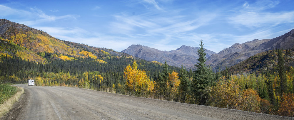 Along the Dempster Highway - Across the Blue Planet
