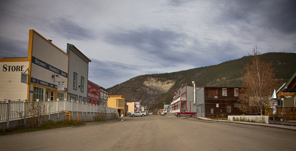 Street View of Dawson City - Across the Blue Planet