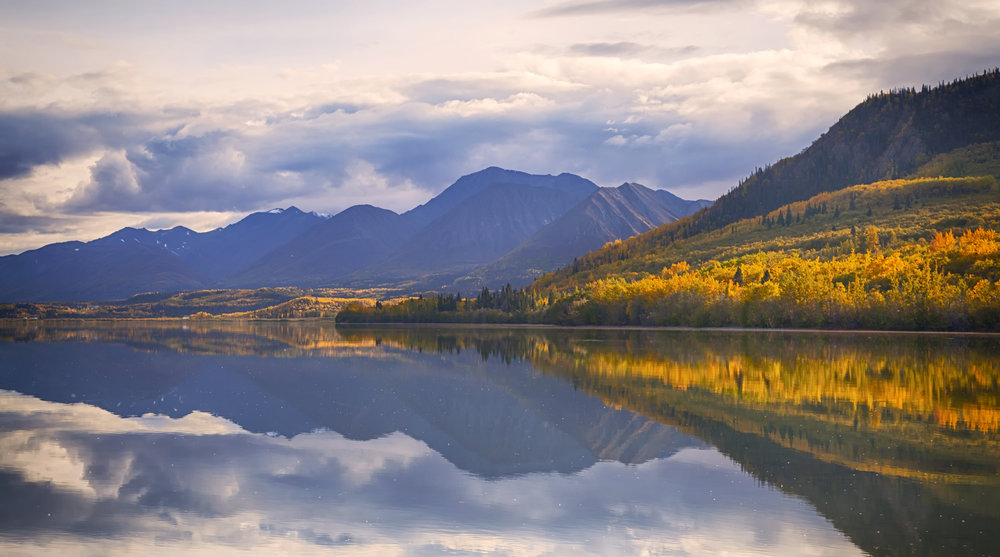 Reflections in Yukon - Across the Blue Planet