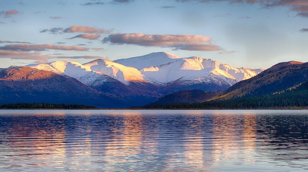 Mt.Granger in Winter - Across the Blue Planet