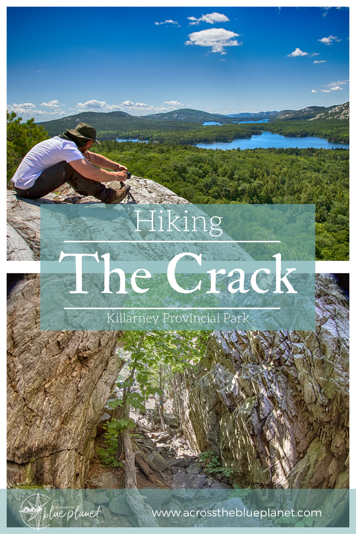 Across the Blue Planet - Hiking the Crack