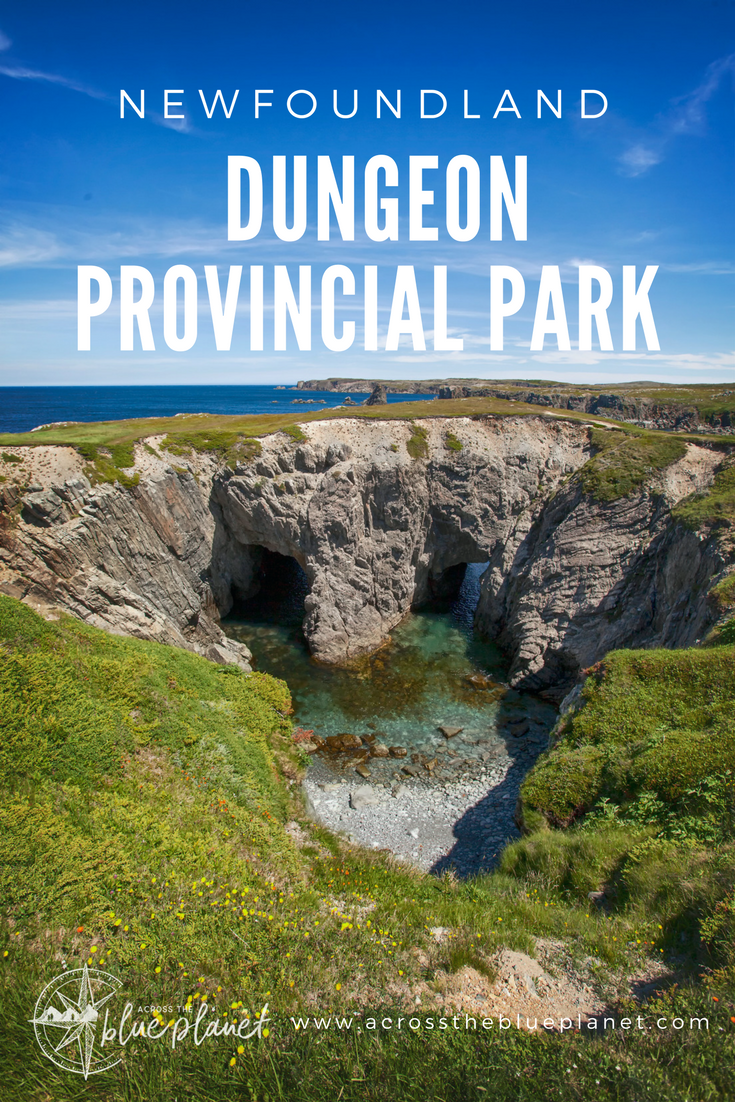 Across the Blue Planet - Dungeon Provincial Park
