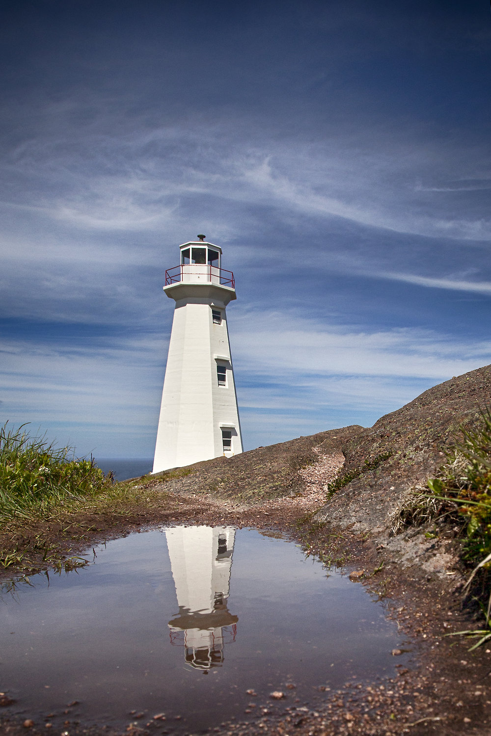 Cape Spear Lighthouse - Across the Blue Planet