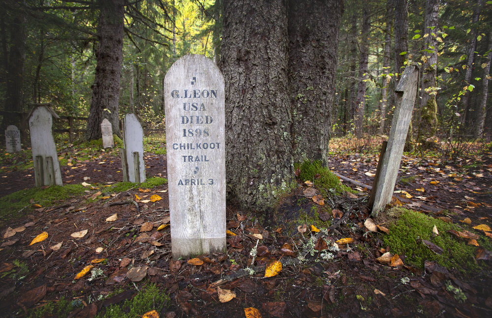 Slide Cemetery, Skagway Alaska - Across the Blue Planet